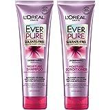L'Oréal Paris Hair Care EverPure Moisture Sulfate Free Shampoo & Conditioner Kit for Color-Treated Hair, Moisturizes + Replenishes Dry Hair, Combo (8.5 Fl. Oz each)