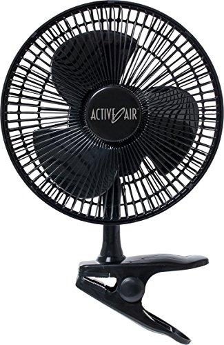 Hydrofarm 8 Inch Clip on Oscillating Fan