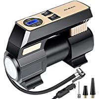 Albad Portable Air Compressor with LED Light, 150 PSI Digital Air Pump