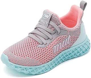 QH Breathable Children's Shoes, Shepherd Girls' Shoes, Autumn Mesh Breathable Sneakers, Boys' Net Shoes, Big Children's Running Shoes, Winter (Color : A, Size : 30EU)