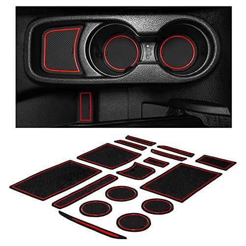 CupHolderHero fits Jeep Wrangler JK Accessories 2011-2017 Premium Interior Non-Slip Anti Dust Cup...