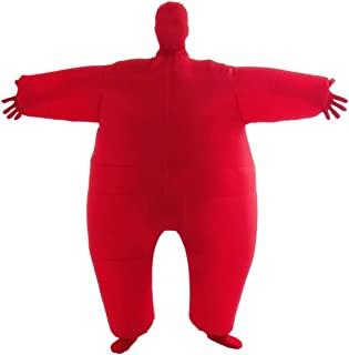 sumo fancy dress inflatable suit