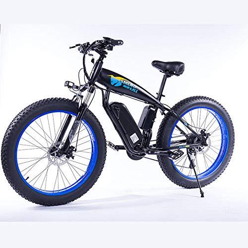 RPHP Elektrische fiets 350W vet band elektrische fiets strand cruiser lichtgewicht vouwen 48v 15AH lithium batterij