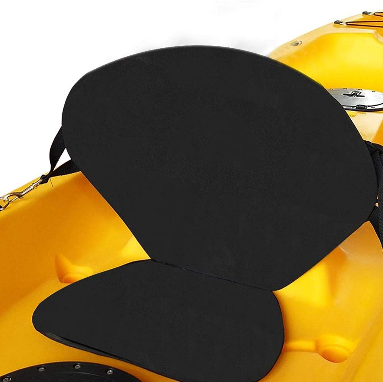 Kayaking Inflatable Boat Adjustable Sit on Top Seat Cushion Pad Back Rest Seat Chair Kayak Backrest for Stand Up Paddle Board Canoe Fishing, Boat Rafting