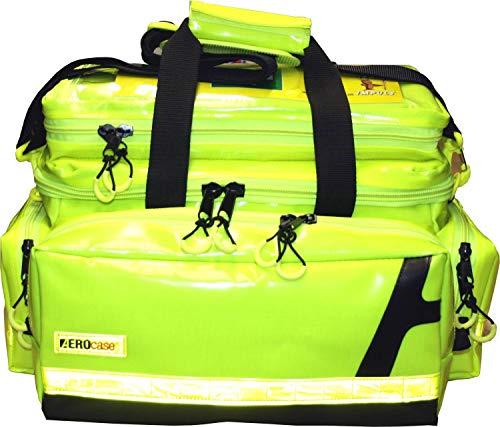 Notfalltasche Ultra/Minister XL Plane gelb - gelbe Reflexstreifen N