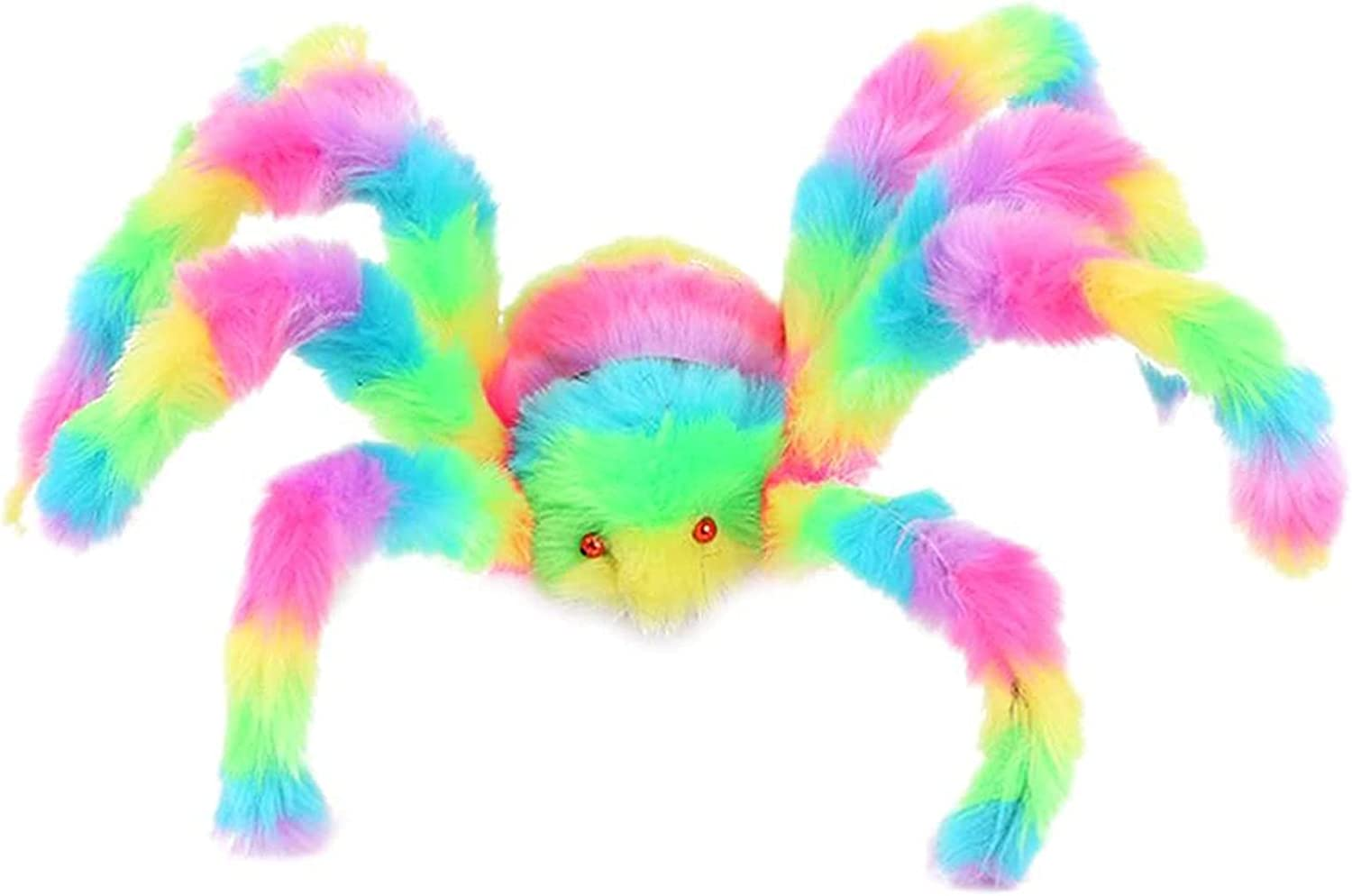 Spider Cheap super special price Sculpture Decoration Halloween and Colorful 67% OFF of fixed price Large