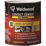 DAP 00273 1 Gallon Weldwood Original Contact Cement, Tan...