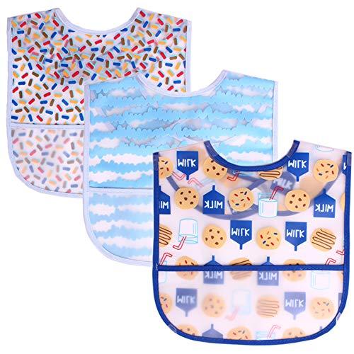 babero bebe,cosas bebes,bibs,bandanas bebe,3 unids/lote, baberos para bebés recién nacidos, baberos impermeables con bandana, baberos para niños, niñas y niños, babero, ropa para bebés