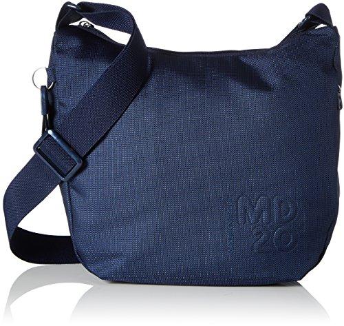 Mandarina Duck Md20, Borsa a Tracolla Donna, Blu (Dress Blue), 10x26x29 centimeters (B x H x T)