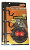 HME Products Ground Blind Accessory Hook Brown, 1.00 x 1.00 x 1.00