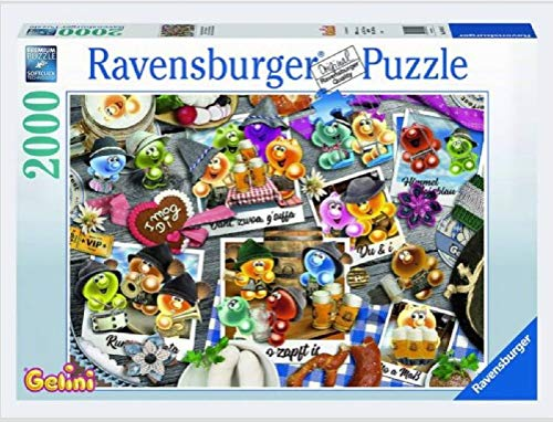 Puzzle - kompatibel mit Ravensburger Puzzle 16014 Gelini auf dem Oktoberfest 2000 Teile