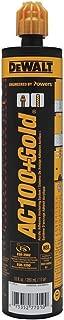 Powers Fasteners AC100 Gold 8478SD Acrylic Quick-Shot Epoxy, 10 oz Size