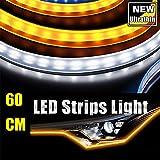 Best Daytime Running Led Strips - 45CM Ultrathin LED Strip Lights DRL Daytime Running Review
