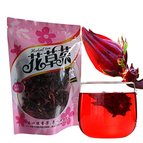 50g (0.11LB) Hibiscus tea Roselle tea natural flower fragante tea tea té detox té hierba té Flor té té té té de hierbas té verde Té crudo Té flor Té chino
