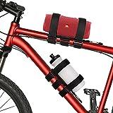 TOOVREN Flaschenhalter Fahrrad Ohne Schrauben, Getränkehalter Einstellbar Halterung, Lenkertasche Fahrrad Trinkflaschenhalterung, Bluetooth Lautsprecher Halterung Bottle cage Box Fahrradzubehör