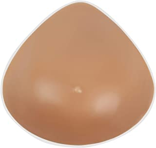 Vollence One Piece Triangle Silicone Breast Forms Mastectomy Prosthesis Bra Enhancer Inserts Concave Bra Pads