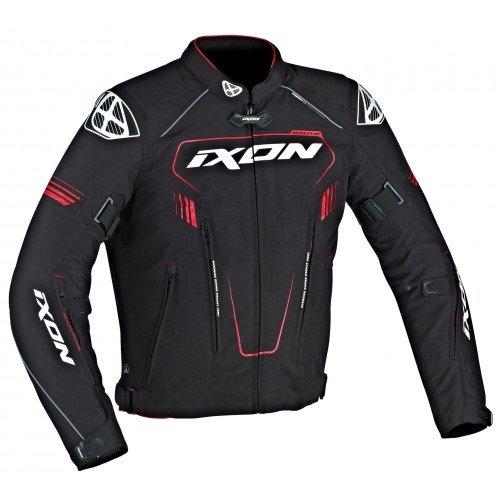 Ixon–Chaqueta Moto–Ixon Zephyr HP Negro/Blanco/Rojo–XL