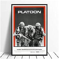 Suuyar 小隊ヴィンテージクラシック映画のポスターとプリント壁アートプリントリビングルームの家の寝室の装飾用キャンバスに印刷-20X30インチX1フレームレス