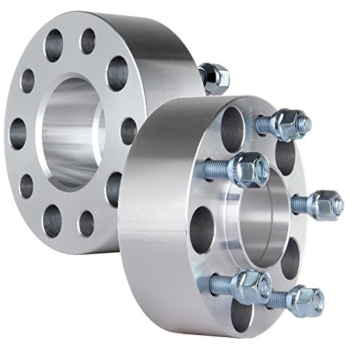 SCITOO 2X 3 inch 5x4.75 Hubcentric Wheel Spacers 5x4.75 to 5x4.75 70.5mm CB fit for Chevrolet for Chevy for Cadillac Eldorado Impala Caprice Corvette 12x1.5 Studs