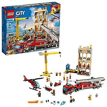 LEGO City Downtown Fire Brigade 60216 Building Kit  943 Pieces