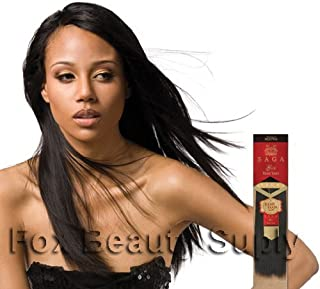 MilkyWay Saga Gold Remy Yaky 100% Human Hair Extensions Weave 18