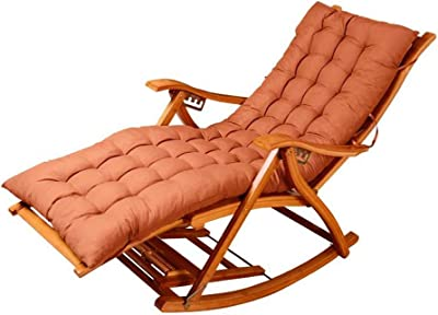 Amazon.com: LHNLY-Lounge Chairs Rocking Chair for Garden ...