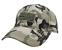 MANMESH HATT American Flag Embroidered Hat, Adjustable Washed Distressed Baseball Cap for Men Women (American Flag Camouflage Green, one Size)