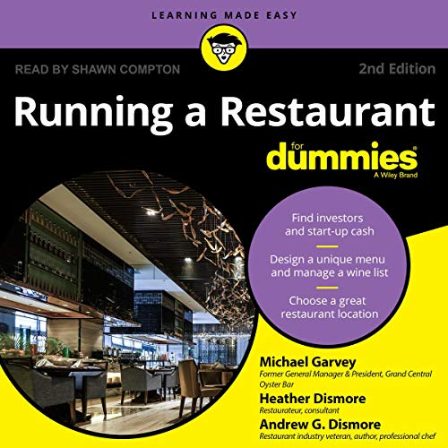 Running a Restaurant for Dummies audiobook cover art