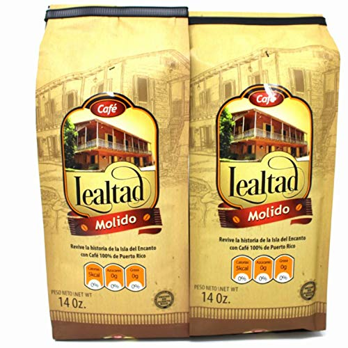 Cafe Lealtad - 100% Puerto Rican Coffee 14oz - 2pack