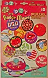 Totally Girlie - DIY (Do it yourself) - Easy Badge Maker Nachfüll Packung (Ansteck - Buttons) - OVP