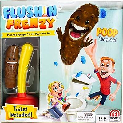Mattel Games Flushin' Frenzy, Yellow