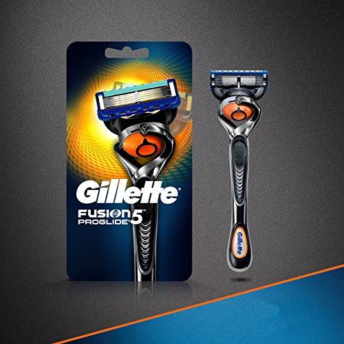 Rasoir pour Hommes Gillette Fusion5 ProGlide Power, 2 Cartouches de Rechange - 4