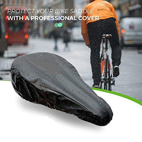 UGROW『防水自転車サドルカバー』