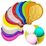 KATELUO Grosse Luftballons Bunt -15 Stück 39 Zoll Helium Luftballon, Latex Riesige Ballon Dekoration für Taufe Babyparty Hochzeit Geburtstag Kinder Party Festival (15 Farbe)