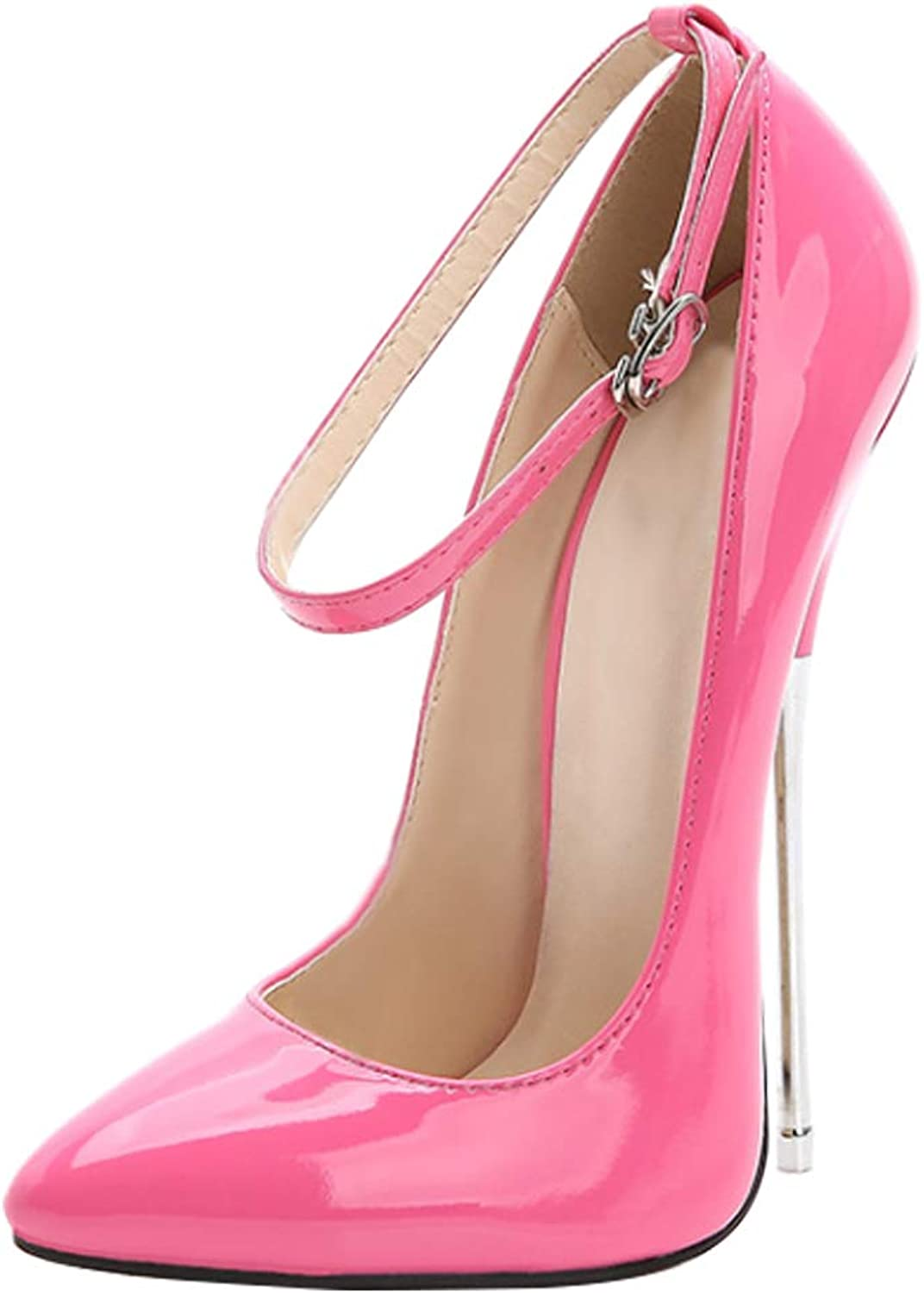 Uirend shoes Women Pumps Heels - High Heel Strappy Pointed Toes Fashion Slip On Dress Sexy shoes
