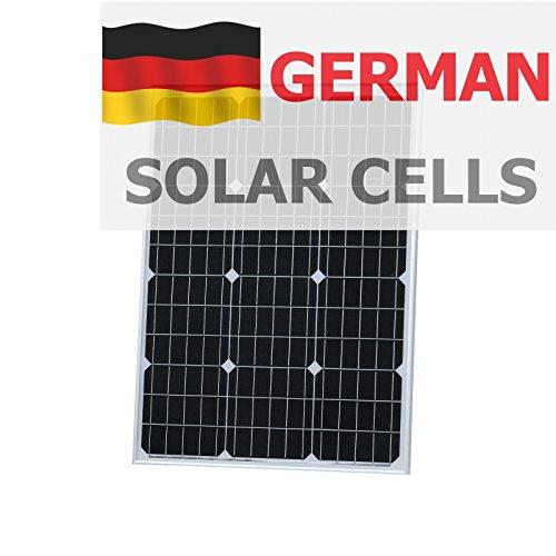 60 W fotónico Universo panel solar alemana BOSCH células solares hechas, para una autocaravana, caravana, caravana, barco, yate o para cualquier otro vehículo o aplicación marinos, o una chira en energía solar system (60 Watt), optimizada para cargar 12 V (12 V) Batería