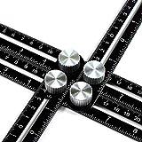 ANKACE Multi Angle Measuring Ruler, Premium Aluminum Alloy...