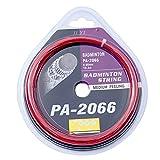 Cordes pour raquette de badminton - Longueur : 10,3 m - Diamètre : 0,66 mm - Lignes de rechange en fibre de nylon élastique - Accessoire de réparation pour la salle de sport et l'entraînement sportif