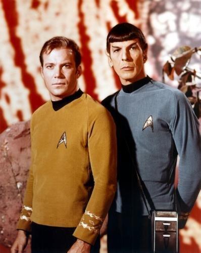 POSTERS Kirk spock star trek tos Poster 61cm x 91cm 24inx36in