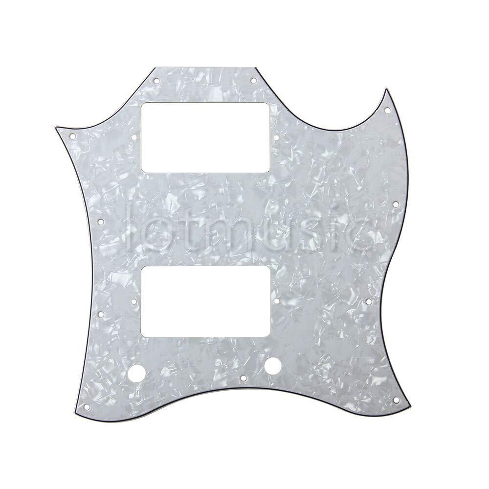 Guitar Parts 1 Pcs Full Attention brand Face HH W Pickguard Plate Scratch Regular discount