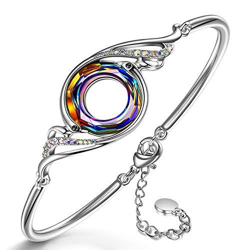 Kate Lynn Frauen Armband schmuck Damen Swarovski Kristall Armband geschenkset schmuckkästchen...