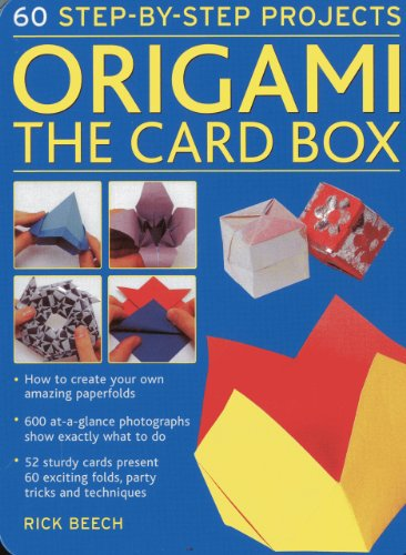 Origami: The Card Box: 60 Step-by-Step Projects (in a Tin Box): 1
