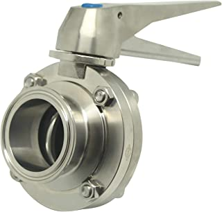 Best 2 inch stainless steel butterfly valve Reviews