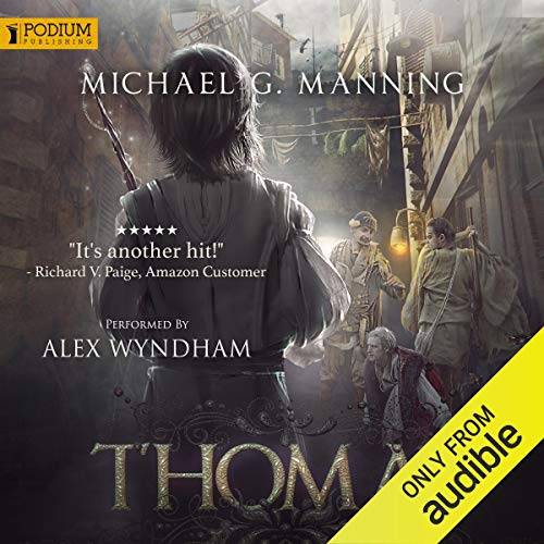 Thomas audiobook cover art