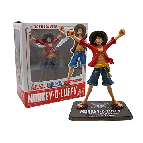 Anime One Piece Rufy After 2 Years The New World Pvc Action Figure Collection Model Toy 16Cm