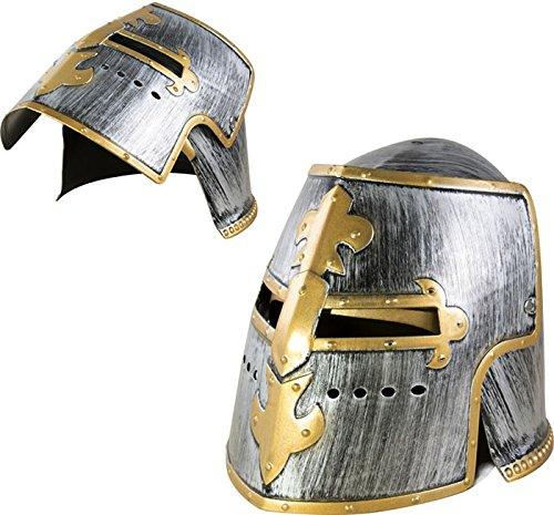 P 'tit payaso re31050–Casco de caballero oro y gris