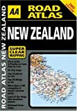 AA Road Atlas: New Zealand (AA Road Atlases)
