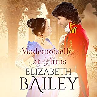 Mademoiselle at Arms audiobook cover art