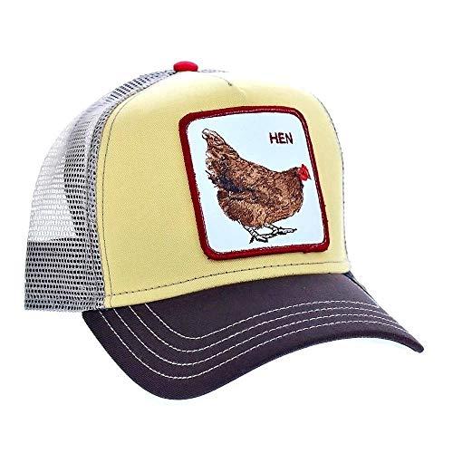 Goorin Bros. Hen Trucker Cap - Yellow, Talla única