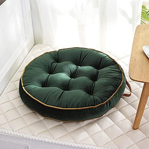ZWPY Chair Cushion Slipcover Dining Room With Handle Seat Cushion, Velvet Chair Cushion, Thick Tatami Non-slip Chair Cushion Floor Pillow 58cm